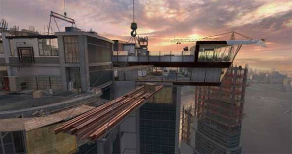 "Call of duty modern warfare ""Overwatch"" map"